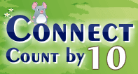 Connect Count by 10 - Whole Numbers - Kindergarten