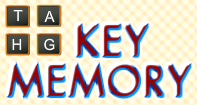 Key Memory - Memory Games - First Grade