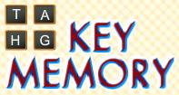 Key Memory - Memory Games - Kindergarten