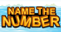 Name The Number - Whole Numbers - Kindergarten