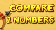 Compare 2 Numbers - Whole Numbers - First Grade