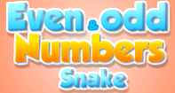 Even and Odd Numbers Snake - Whole Numbers - First Grade