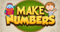 Make Numbers - Addition - Second Grade