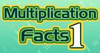 Multiplication Facts 1 - Multiplication - Third Grade