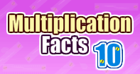 Multiplication Facts 10 - Multiplication - First Grade