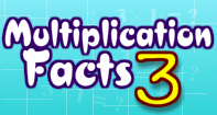 Multiplication Facts 3 - Multiplication - First Grade