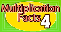Multiplication Facts 4 - Multiplication - Third Grade