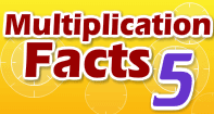 Multiplication Facts 5 - Multiplication - Second Grade