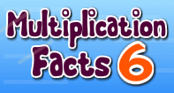 Multiplication Facts 6 - Multiplication - Third Grade