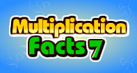 Multiplication Facts 7 - Multiplication - First Grade