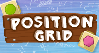 Position In Grid - Shapes - First Grade