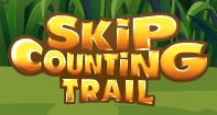 Skip Counting Trail - Whole Numbers - First Grade