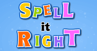 Spell It Right - Word Games - First Grade
