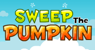 Sweep the Pumpkin - Skill and Strategy Games - First Grade