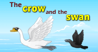 Comprehension - The crow and the Swan - Reading - First Grade