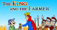 Comprehension - The king and the Farmer - Reading - First Grade