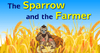 Comprehension - The Sparrow and the Farmer - Reading - First Grade