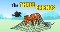 Comprehension - The Three Friends - Reading - First Grade