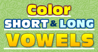 Color Short and Long Vowels