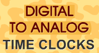 Digital to Analog Time Clocks