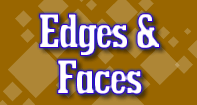 Edges and Faces - Geometry - Second Grade