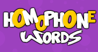 Homophone Words - Homonyms and Homophones - Second Grade