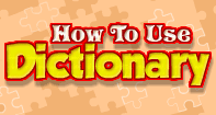 How to use Dictionary - Reading - Second Grade
