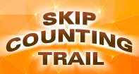 Skip Counting Trail - Whole Numbers - Second Grade