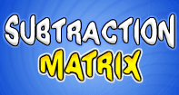 Subtraction Matrix - Subtraction - Second Grade