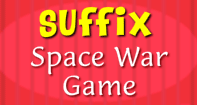 Suffix - Space War Game - Compound Words - Second Grade