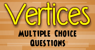 Vertices : Multiple Choice Questions - Geometry - Second Grade