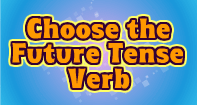 Choose the Future Tense Verb - Verb - Third Grade