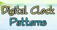 Digital Clock Patterns