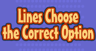 Lines : Choose the Correct Option - Shapes - Third Grade