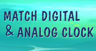 Match Digital and Analog Clock