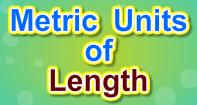 Metric Units of Length - Units of Measurement - Third Grade