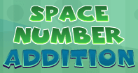 Space Number Addition - Addition - Third Grade