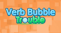 Verb Bubble Trouble - Verb - Third Grade