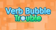 Verb Bubble Trouble - Verb - Third Grade