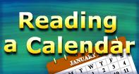 Reading a Calendar