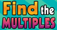 Find the Multiples - Multiplication - Fourth Grade