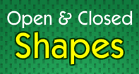 Open and Closed Shapes - Shapes - Third Grade