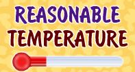 Reasonable Temperature - Temperature - Fourth Grade