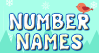 Number Names - Whole Numbers - Kindergarten