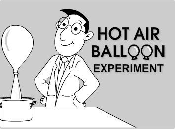 Hot Air Balloon Experiment