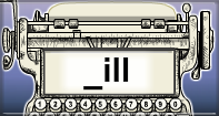 Ill Words Speed Typing - -ill words - Second Grade