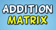 Addition Matrix - Addition - Kindergarten