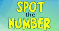 Spot the Number - Whole Numbers - Kindergarten