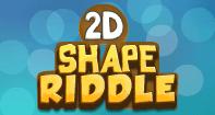 2D Shape Riddle - Geometry - Kindergarten