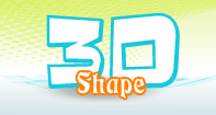 3D Shape - Shapes - Kindergarten